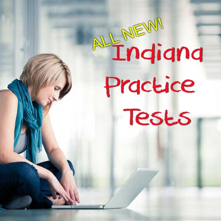 Indiana learner's permit practice - copyright: Lightpoet