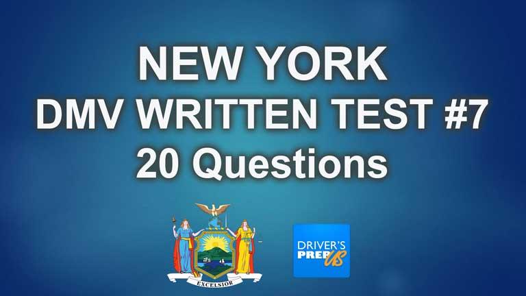 New York DMV Test #7