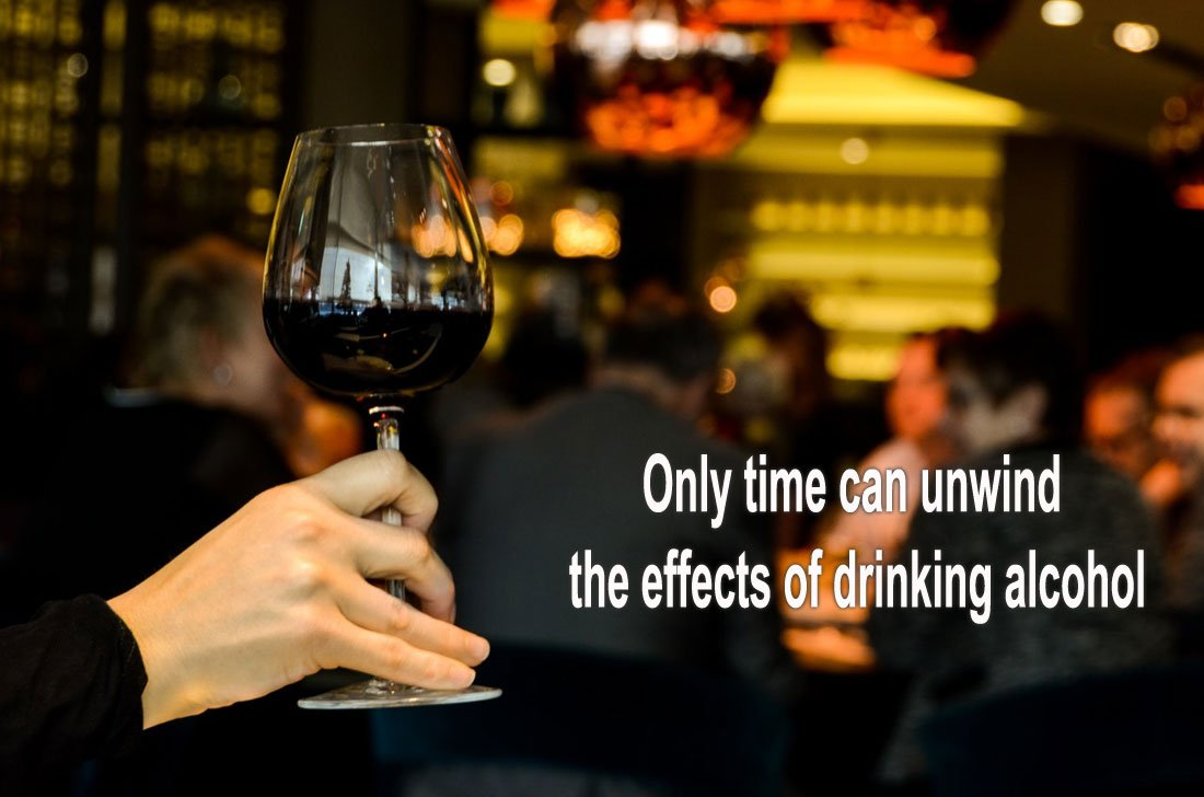 Only time can sober you up -  Photo by Skitterphoto from Pexels