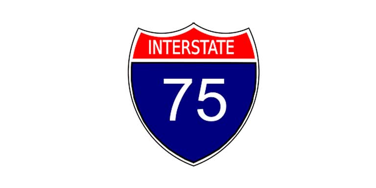 Basic shapes - Interstate Route Sign