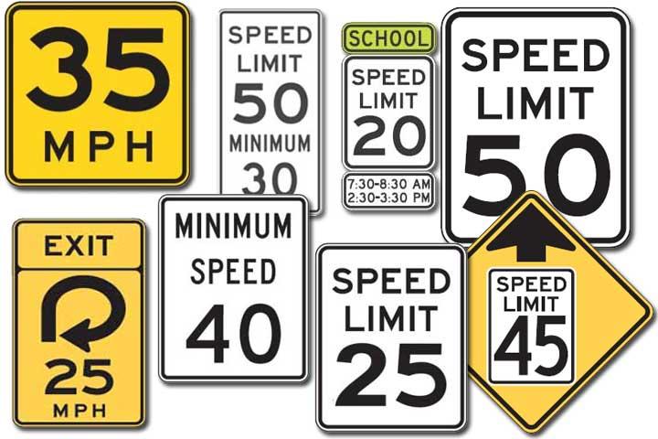 Speed Signs - driversprep.com