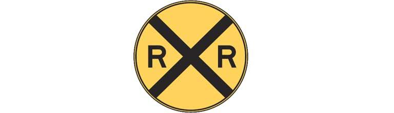 W10-1 Grade Crossing Advance Warning