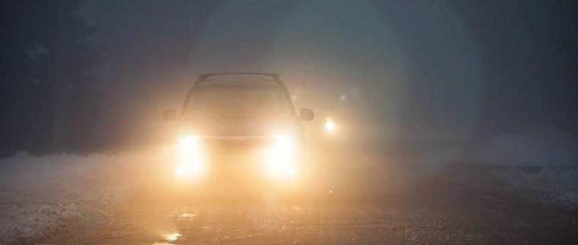 Driving in rain- copyright Elena Elisseeva