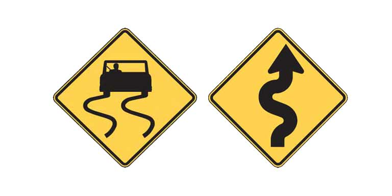 DMV Test - Know These Two Signs