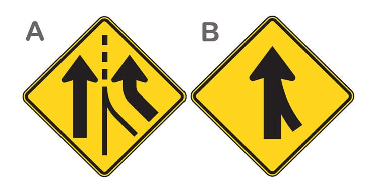 Commonly Confused Road Signs