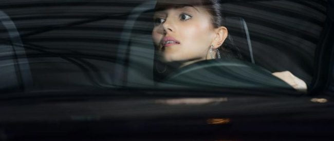Woman driving car - copyright: Kirill Polovnoy