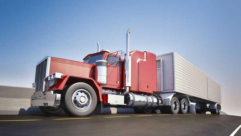 An 18 wheeler Semi-Truck - Copyright: James Steidl