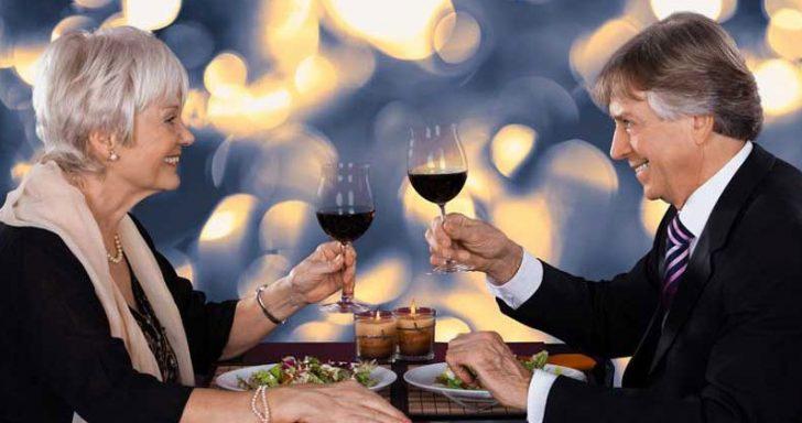Couple drinking wine - Copyright: Andriy Popov