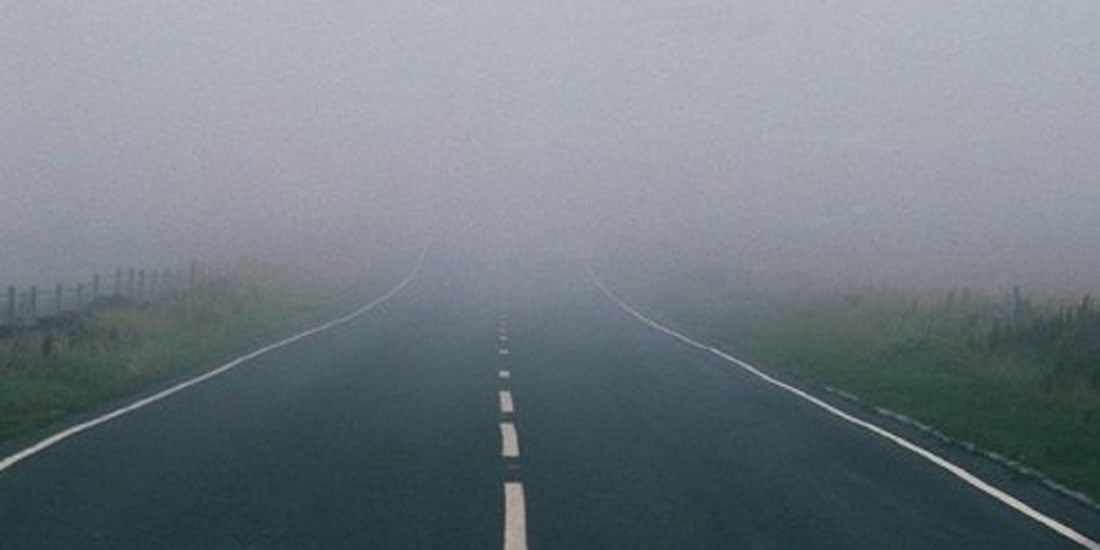 driving in fog with low beam headlights