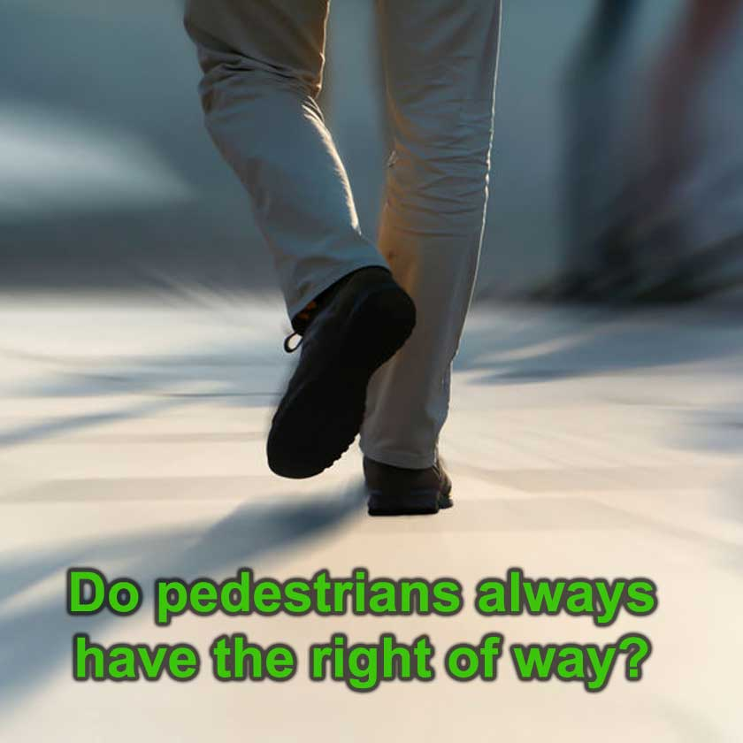 Pedestrian - Photo credit: Heiko Kuverling