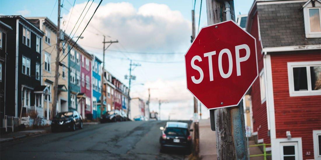 Stop Sign - Photographer Erik Mclean