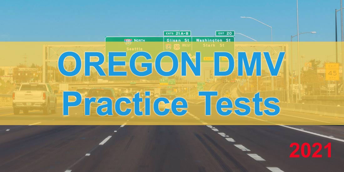 Oregon DMV Practice Tests