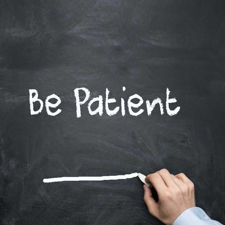 Be patient - driversprep.com DMV tests