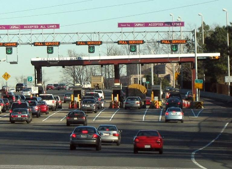 Toll Plaza Dulles - Credit: MPD01605