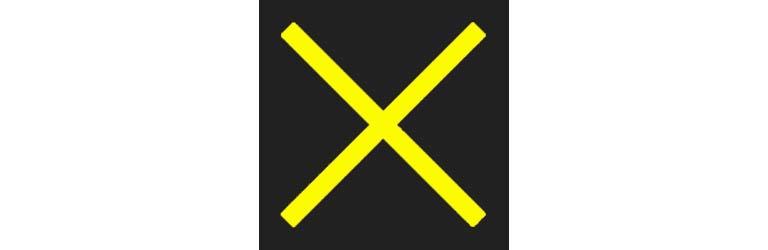 Lan-use control signal - yellow X - copyright: driversprep.com