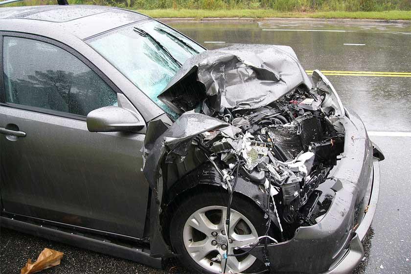Car Accident - Credit: W. Robert Howell