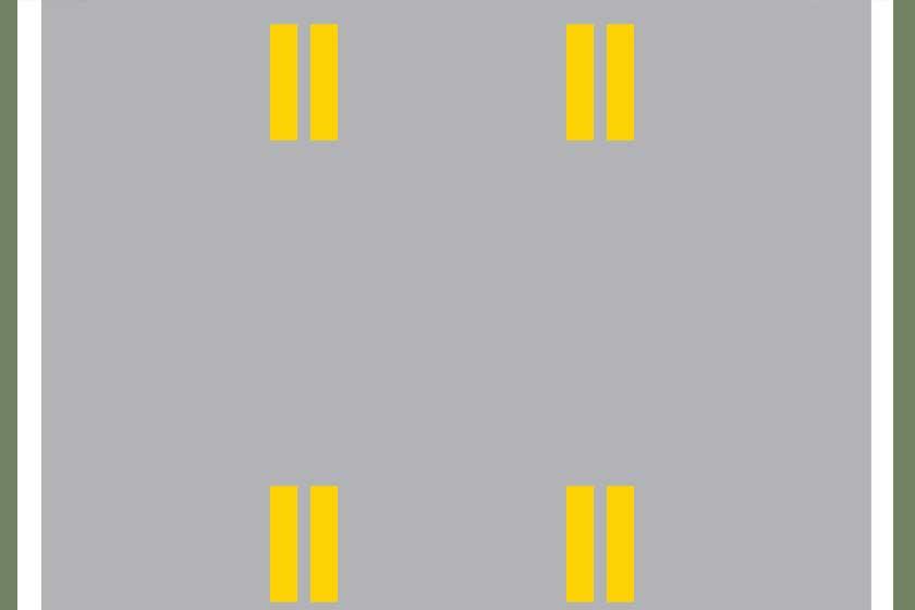 Reversible traffic lane