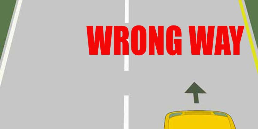 Wrong way - copyright: licenseroute.com