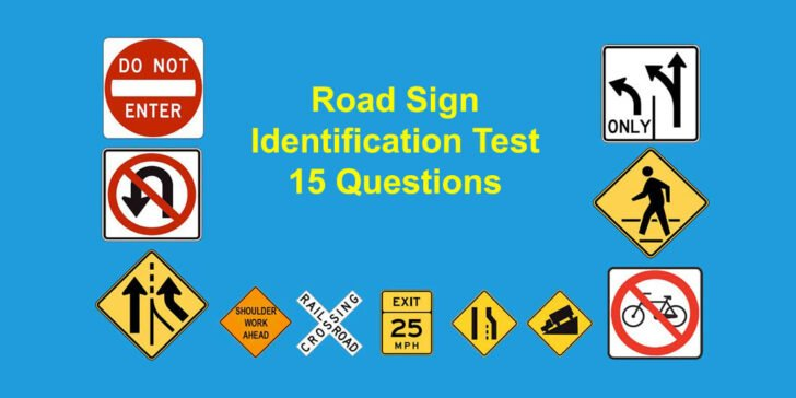 Illinois Road Sign Identification Test