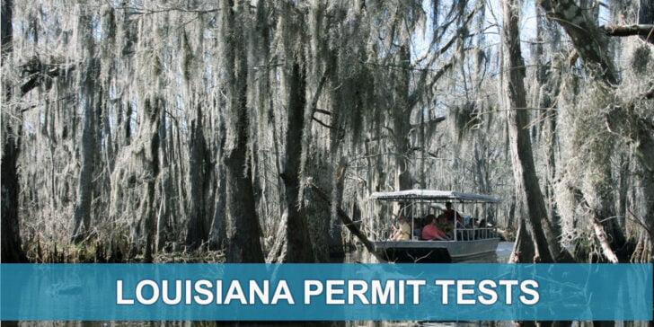 Louisiana OMV Permit Test Practice