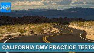 California DMV practice tests