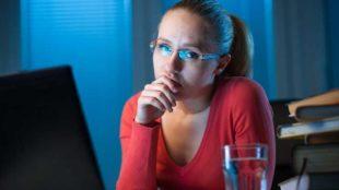 Study tactics - late night cramming - Copyright: paulschlemmer