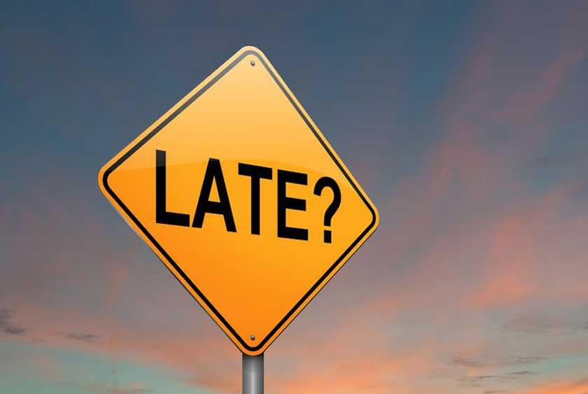 Late? - Copyright: Samantha Craddock