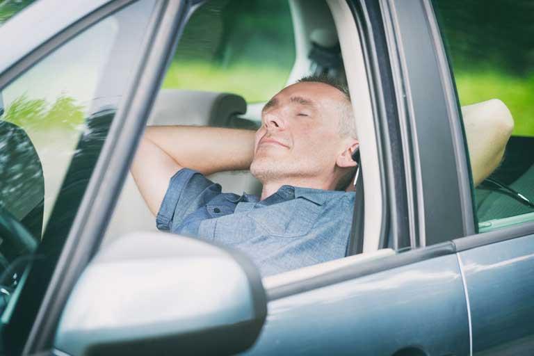 Man taking a nap - Copyright:  Monika Wisniewska