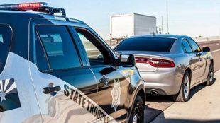 Arizona State Trooper - Traffic Stop