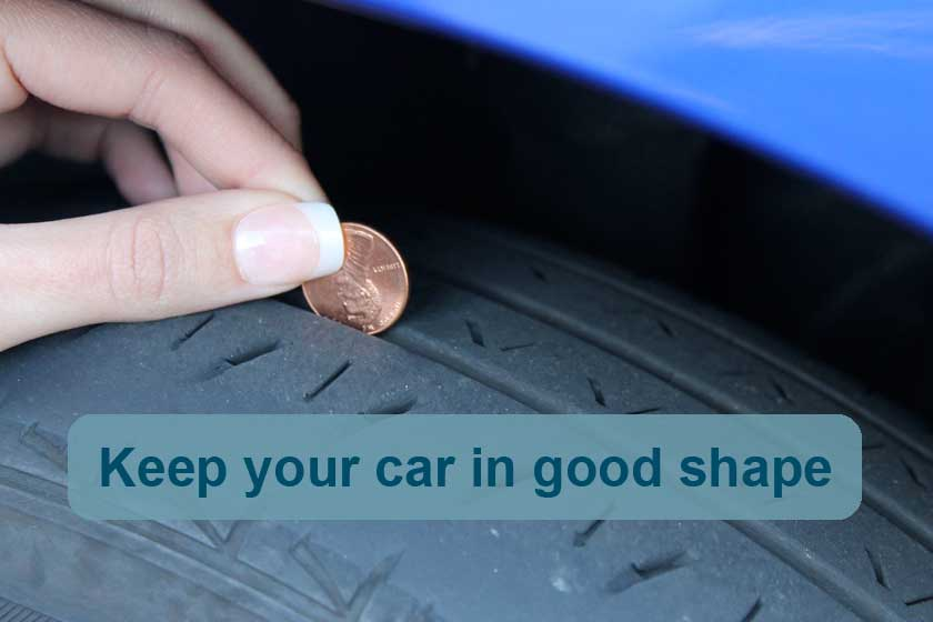 Be prepared for bad weather - keep your car in good shape