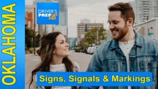 Oklahoma Sample Test - Signs, Signals & Markings