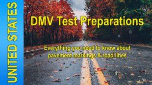 Video: DMV Test Preparations - Road Markings & Lines