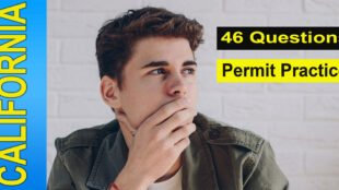 46 questions for your California permit test practice - cover photo