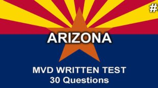 Video 3: Arizona MVD Written Test – 30 questions