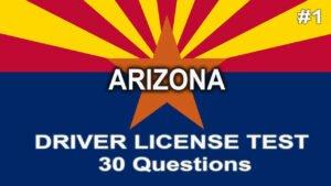 Video 1: Arizona Driver License Test - 30 questions