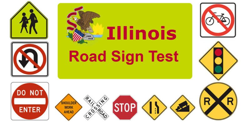 Illinois Road Sign Test Questions