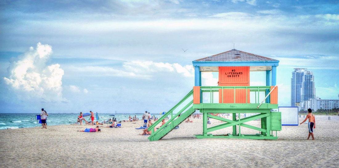 South Beach Florida - Credit Michelle Maria