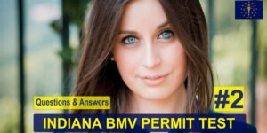 Video: Indiana Permit Test Questions - No. 2