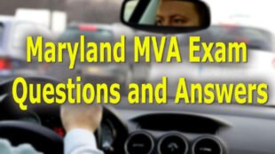 Maryland MVA Exam Questions & Answers