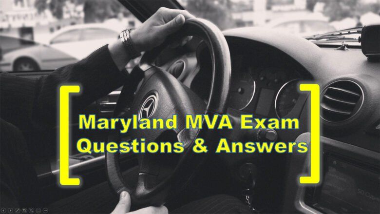 Video Cover: Maryland MVA Exam Questions & Answers