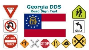 Georgia DDS Road Sign Test