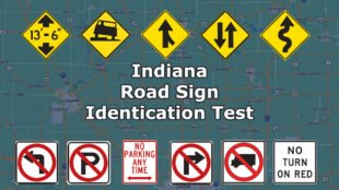 Indiana Road Sign Identification Test