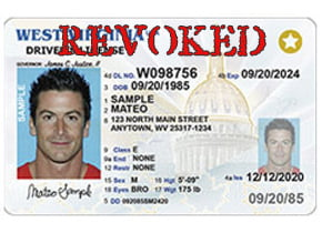 West Virginia Driver License - Revoked