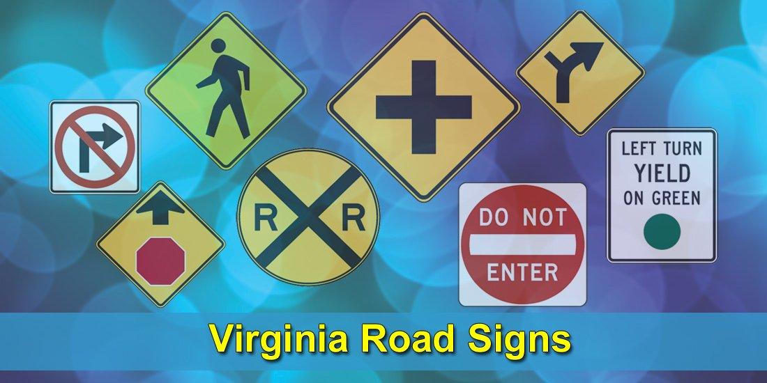 Virginia Road Signs Test at Driversprep.com