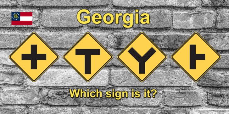 Alternate Georgia Traffic Sign Recognition Test