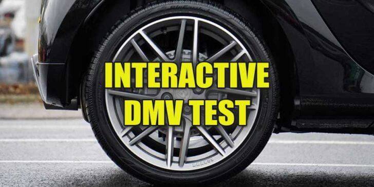 Interactive test questions about tires